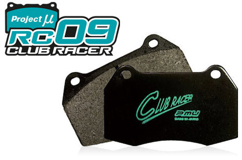 Project Mu RC09 Club Racer Front Brake Pads - Evo 5-10, Subaru STI