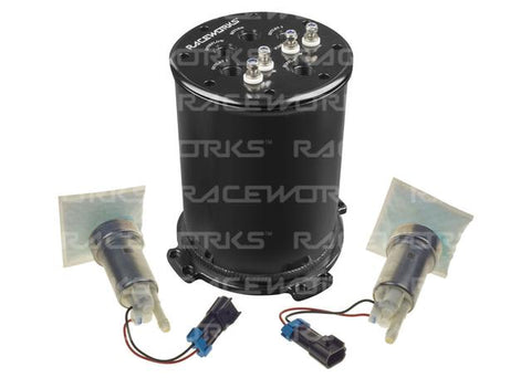 Raceworks Raceworks 2.8L Surge Tank Suits Single/Twin Intank Pumps