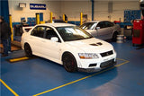 Mitsubishi Lancer Evolution 7 Varis Style Carbon Fiber front Lip