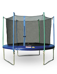 JUMP PRO TRAMPOLINE WITH ENCLOSURE, 12-FOOT