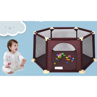 Mama& Kids Playpen & Mat - Hexagonal