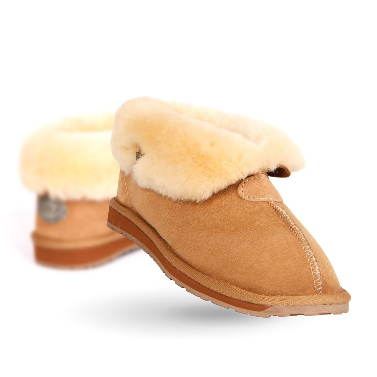 EMU Albany Slipper Chestnut