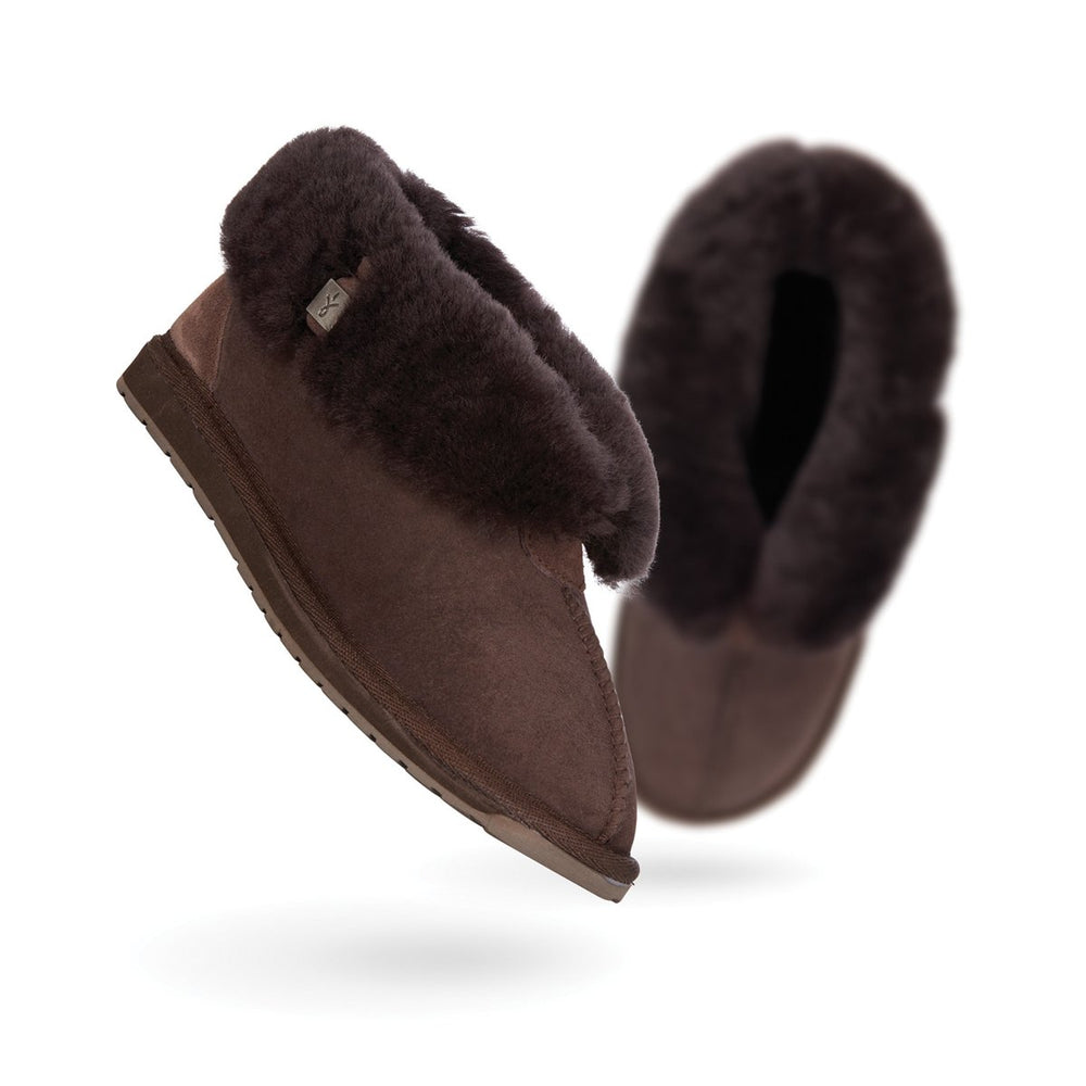 EMU Albany Slipper Chocolate