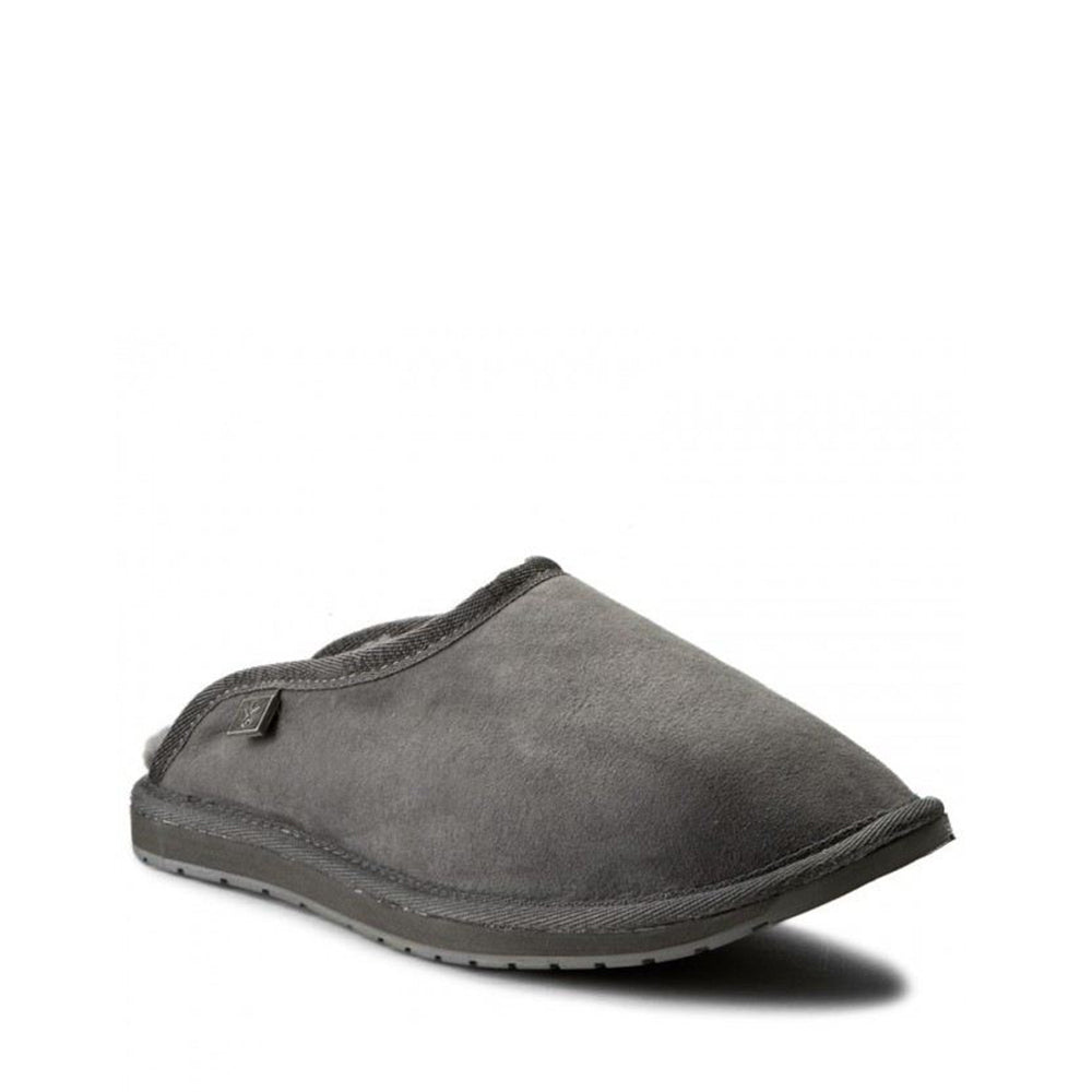 EMU Men's Esperance Slipper Charcoal - Made in Australia