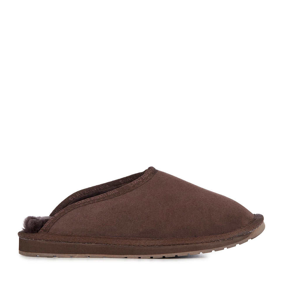 EMU Men's Esperance Slipper Chocolate - Made in Australia