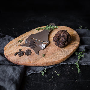 French Truffle and a truffle shaver