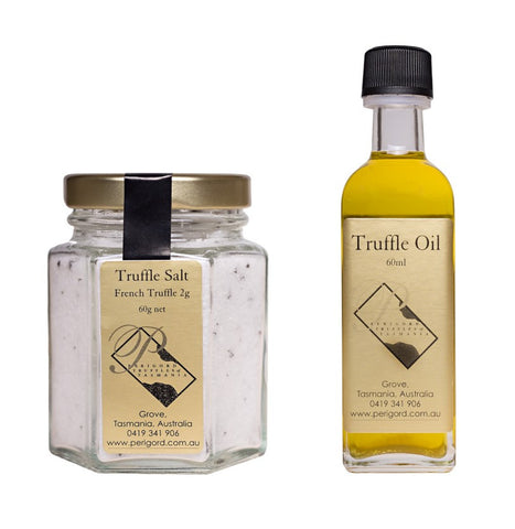 Truffle Salt and Truffle Oil Pack