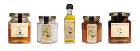 Hamper of 4 products plus Truffle Oil