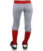 Rib Waist Softball Pants