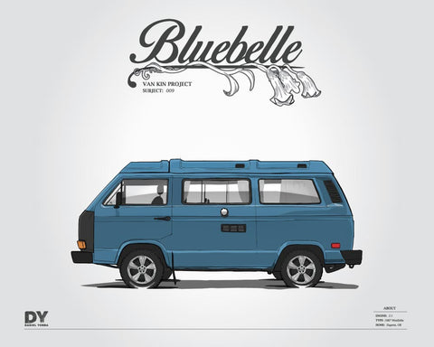 Bluebelle Digital Download