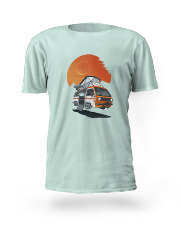 Death-star Sunset Tshirt