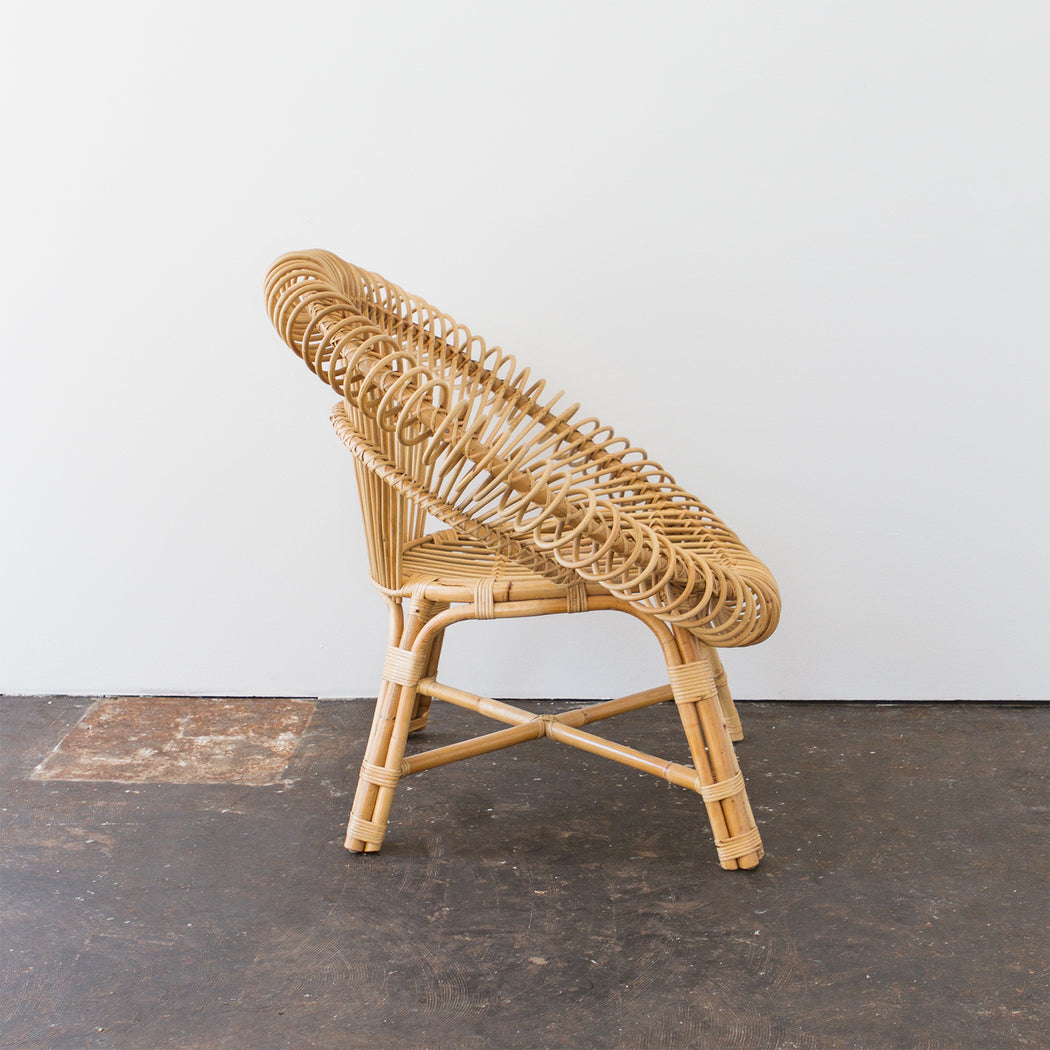 Isobel Oval Cane Chair