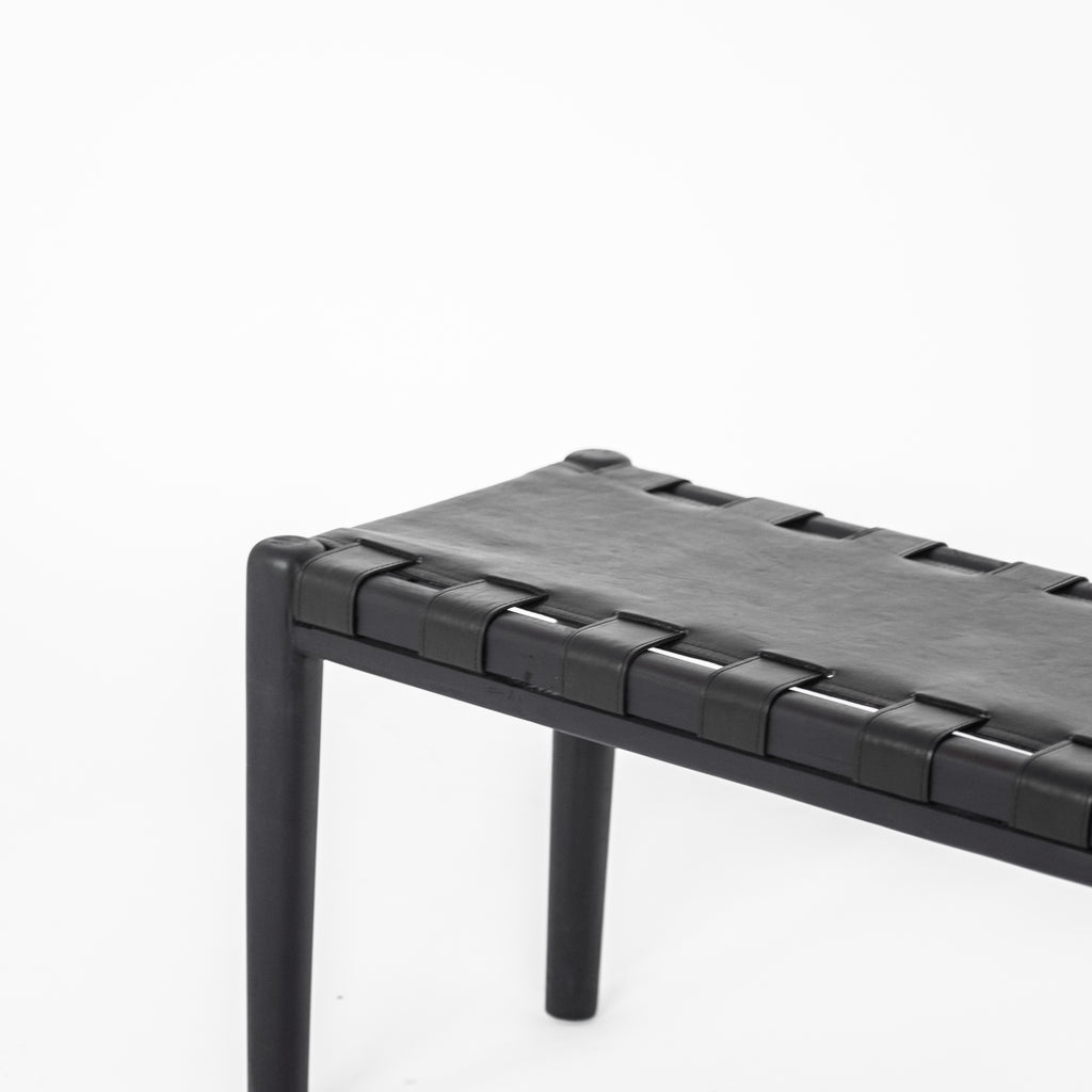 Ernie Bench Seat | Black - McMullin & co.