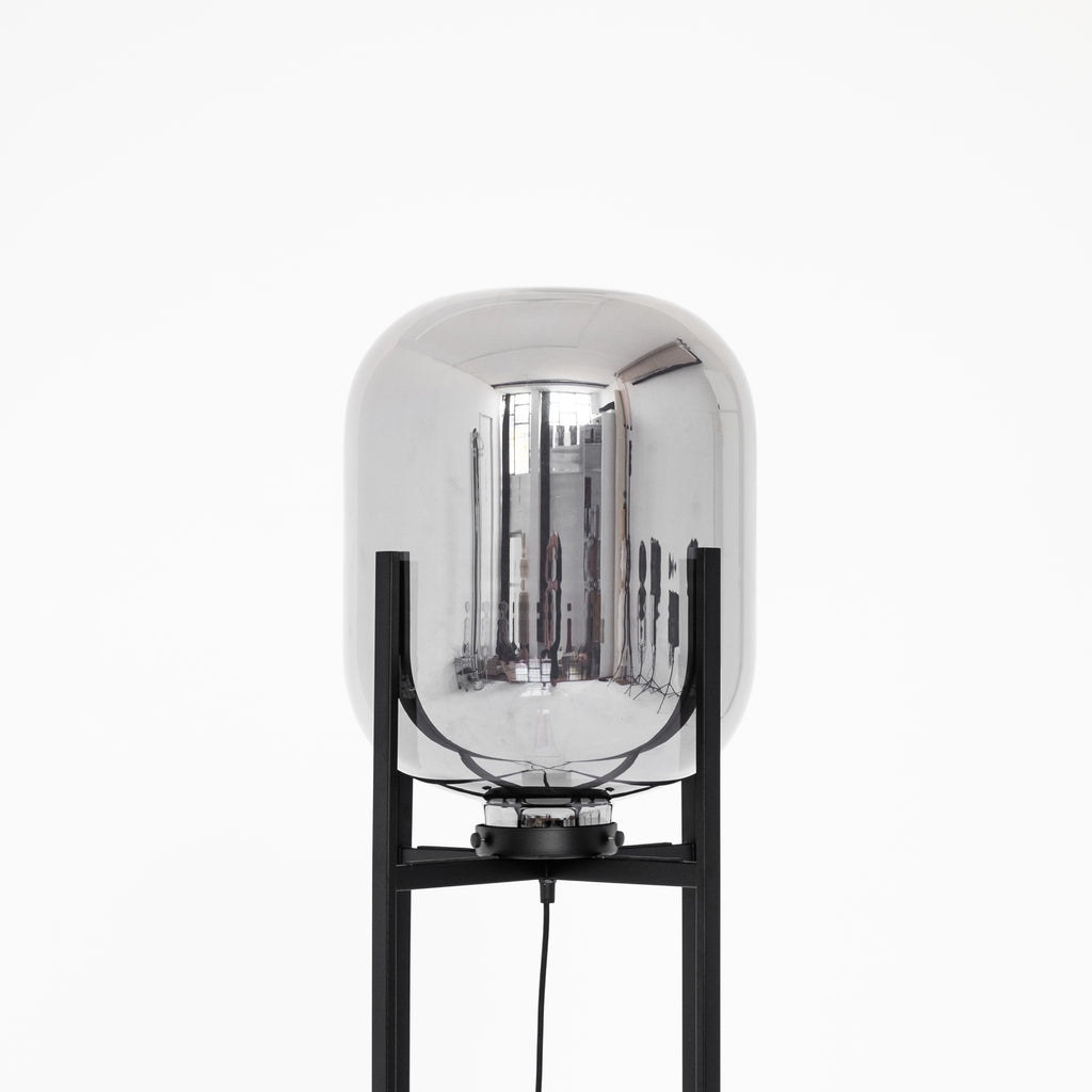 Hector Floor Lamp | Smoke - McMullin & co.