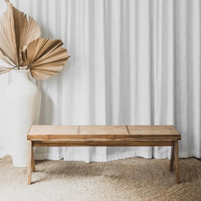 Frank Bench | Natural - McMullin & co.