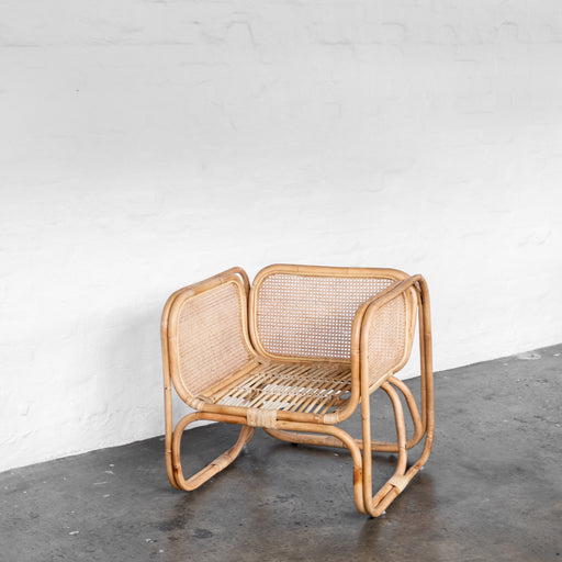 Wilbur Cane Chair - Natural