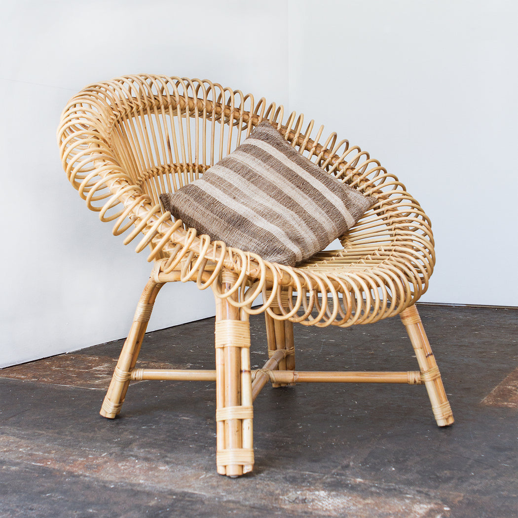 Isobel Oval Cane Chair ...