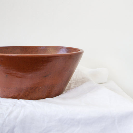 Eartha Clay Serving Bowl