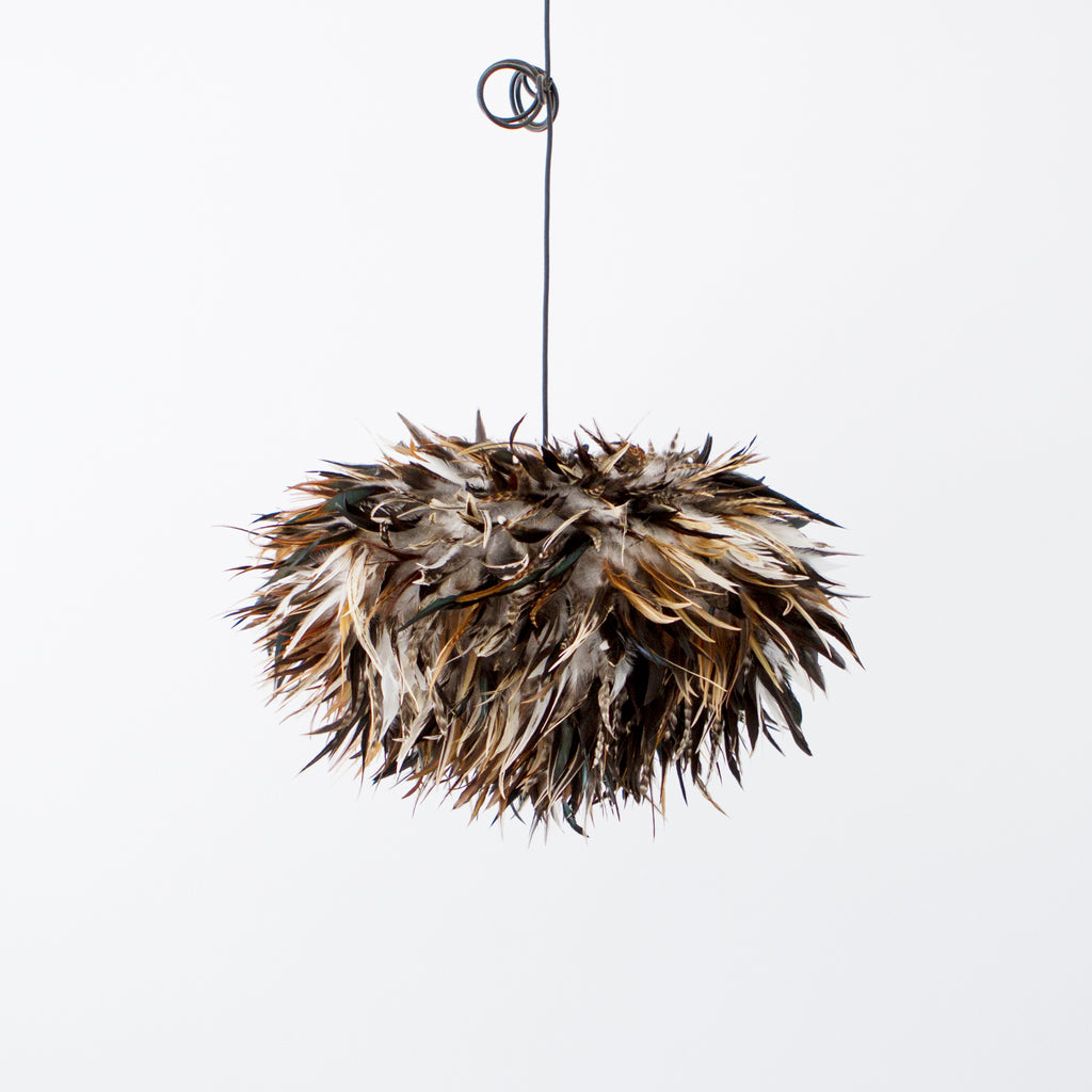 Bruno Feathered Light Shade