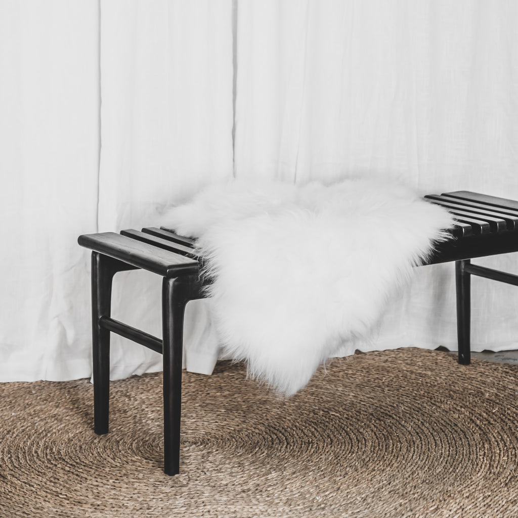 White Icelandic Sheepskin | White - McMullin & co.