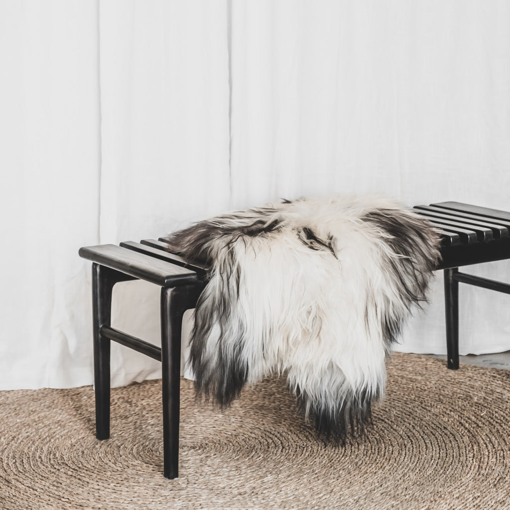 Icelandic Sheepskin | Black and White - McMullin & co.