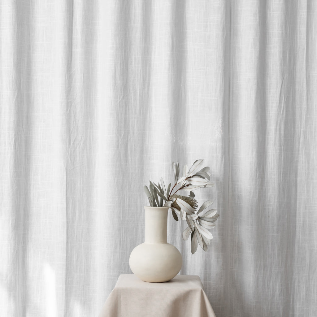 Flora Vessel | Cream | Small - McMullin & co.