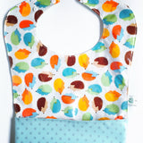 Waterproof Reversible Pocket Bib