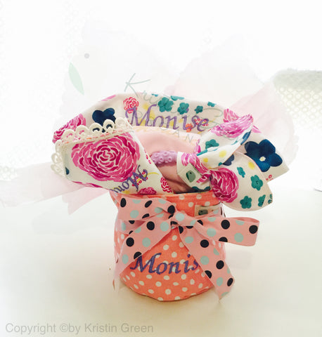Organic Personalized Baby gift set F