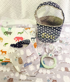 Organic Personalized Baby gift set D