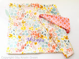 Organic bib and blanket set