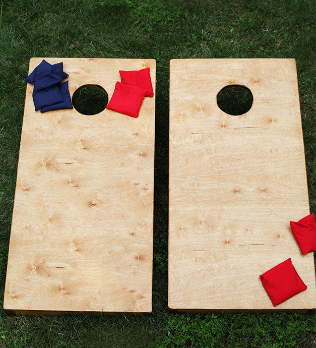 Hello Monday - Earth: Build Your Own Cornhole Set