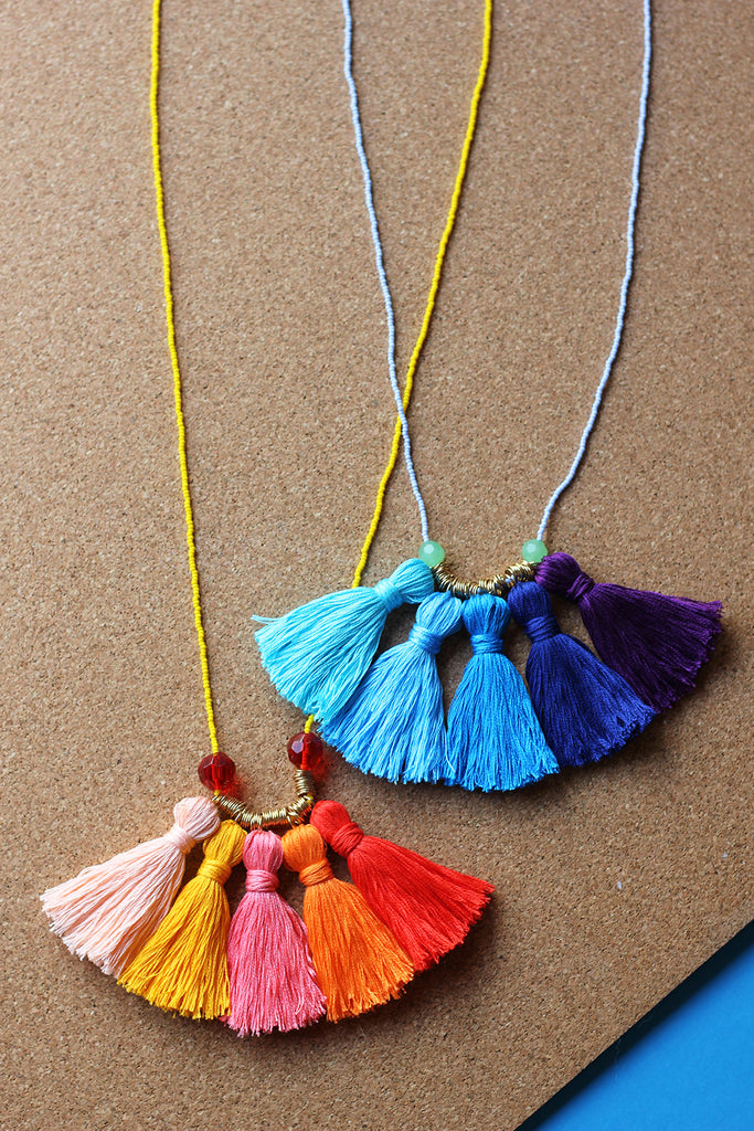 Mother Daughter DIY Necklaces