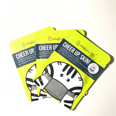 Face Mask - Cheer Up, Skin! 3 Pack