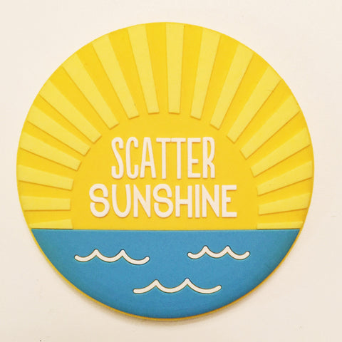 """Scatter Sunshine"" Compact Mirror"