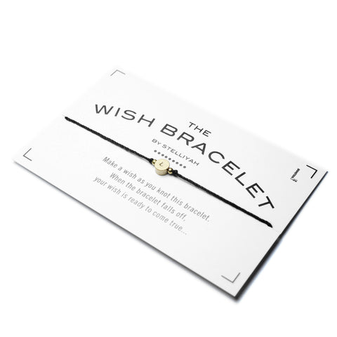 Wish Bracelet - Alphabet Edition