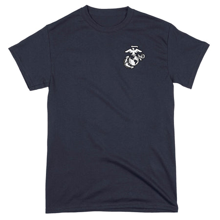 Black/White EGA Chest Seal T-Shirt
