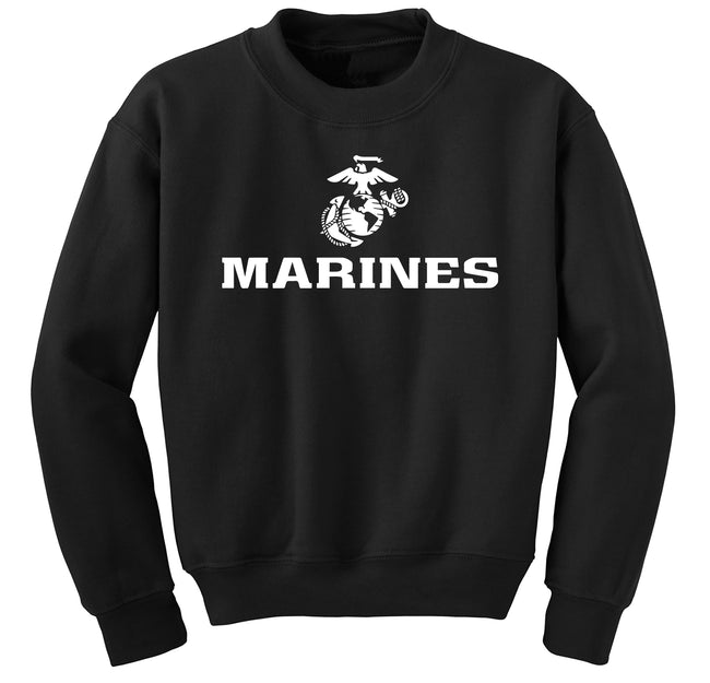 Marines With EGA Sweatshirts