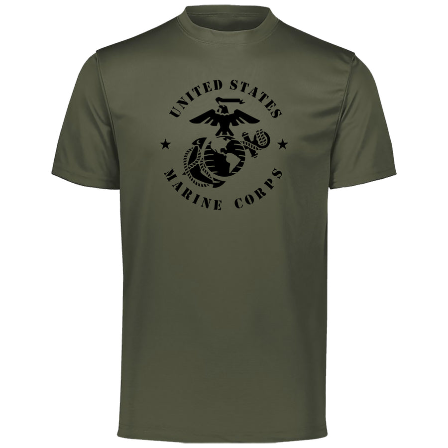 Large USMC EGA Dri-Fit Performance T-Shirt