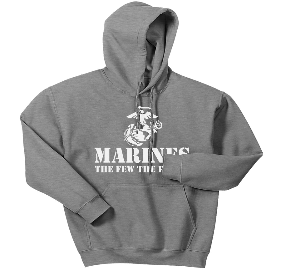 The Few The Proud Hoodie (white)