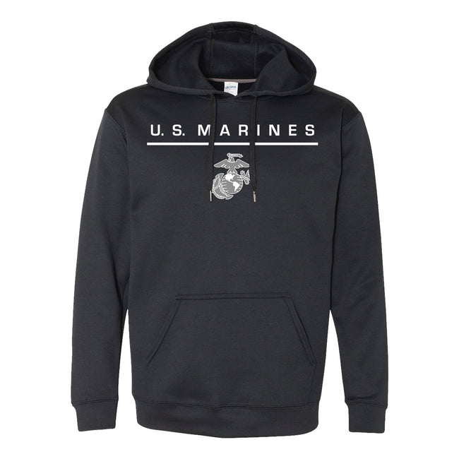USMC PERFORMANCE Dri-Fit POLY US MARINES HOODIE