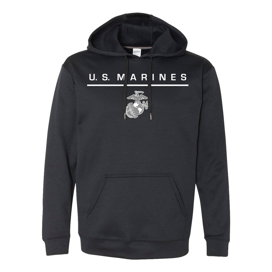 DRI-FIT PERFORMANCE POLY US MARINES HOODIE