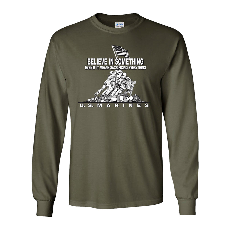 Believe in Something Long Sleeve T-Shirt