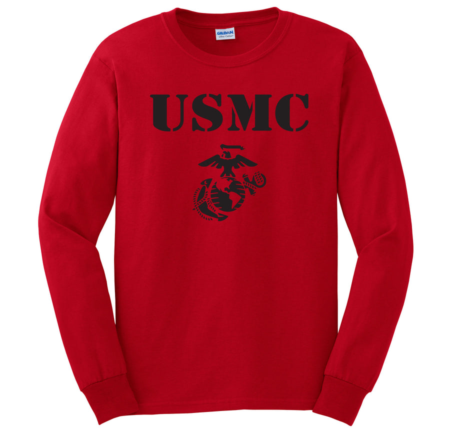 USMC EGA Long Sleeve T-Shirt