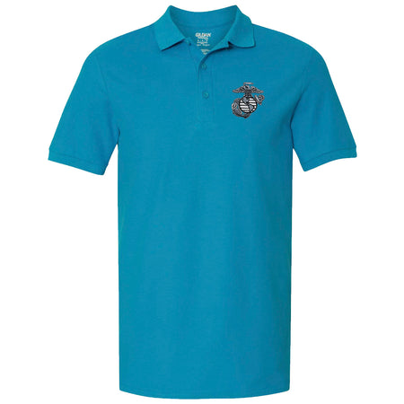 Marines EGA Premium Cotton Double Pique Polo