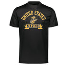 USMC PERFORMANCE Dri-Fit Gold Marines T-Shirt