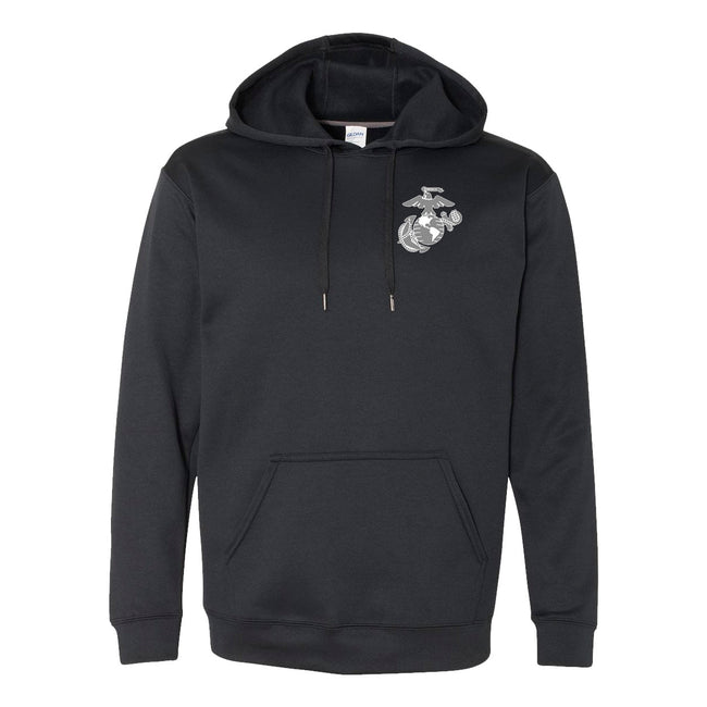USMC PERFORMANCE Dri-Fit POLY EGA HOODIE