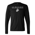 Augusta Wicking Dri-Fit U.S. Marine Long Sleeve
