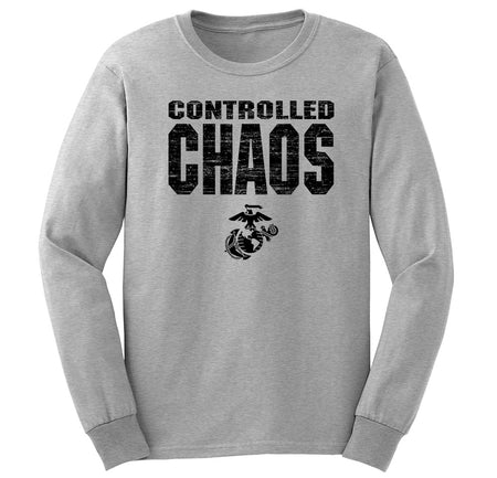 Controlled Chaos Long Sleeve T-Shirt