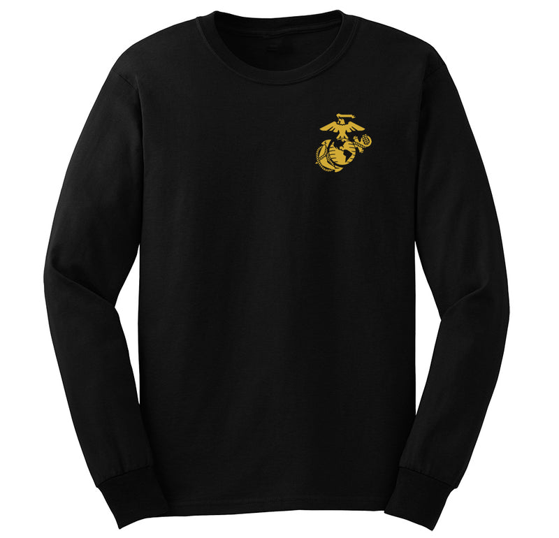 CLOSEOUT EGA Chest Seal Gold Long Sleeve Tees