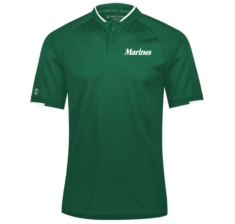 Marines Embroidered St. Patrick's Day Polo